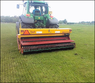 Overseeding Services